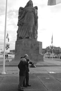 Le monument aux morts réalisé par Pierre-Marie POISSON