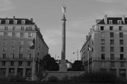 Monument aux morts de Caen place Foch (près de la Prairie).