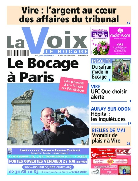 Une Voix Bocage-26-05-2016-Serge-Philippe-Lecourt