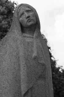 Femme en deuil