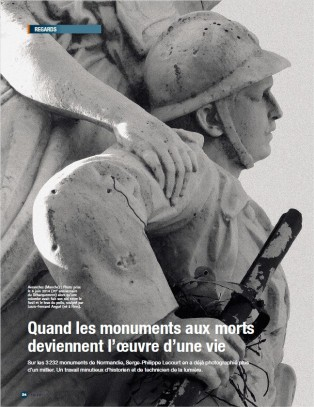 ouest-france-hors-serie-serge-philippe-lecourt-monuments-aux-morts-normandie